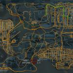 Mapa pe M cu mod de GPS