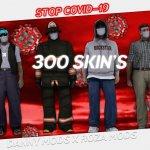 Skinuri cu masti anti-coronavirus