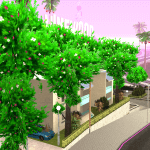 Copaci de primavara
