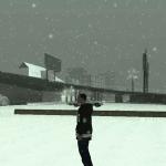 Mod de ninsoare care porneste automat